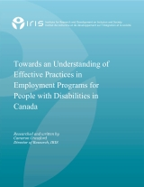 The employment of people with disabilities: What's working?