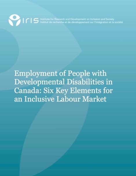 Six Key Elements for an Inclusive Labour Market