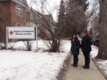 Regina Immigrant Women Centre, Neelu Sachdev, Kelsey Waldo