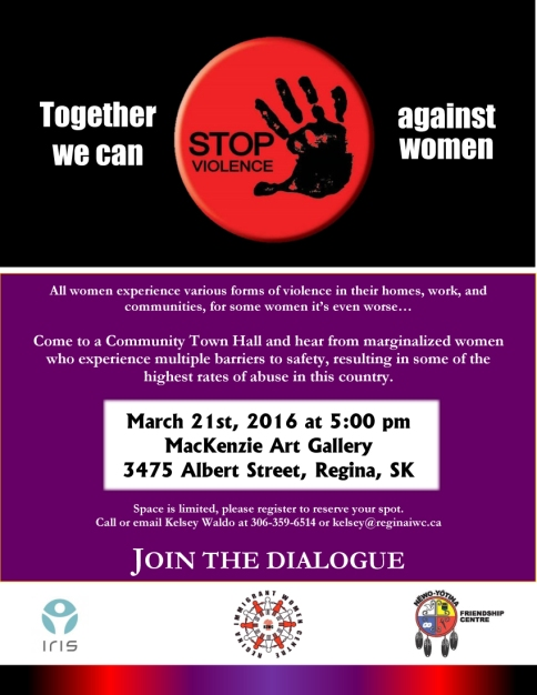Regina - Community Town Hall Poster